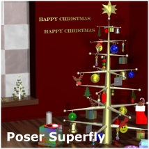 Countdown to Christmas Props for Poser & Daz image 4