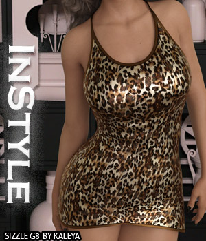 InStyle - Sizzle G8F 3D Figure Assets -Valkyrie-