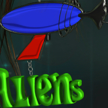 Alien Wear Earrings_V4_Poser image 3