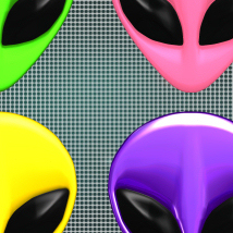 Alien Wear Earrings_V4_Poser image 5