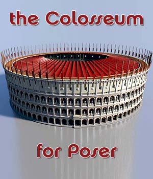 The Colosseum - for Poser 3D Models enxo69