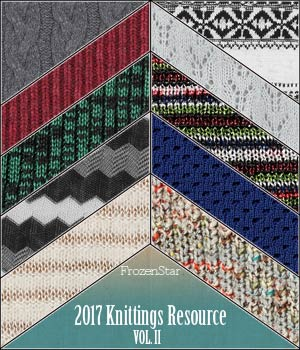 FS 2017 Knittings Resource Vol.II 2D Graphics Merchant Resources FrozenStar