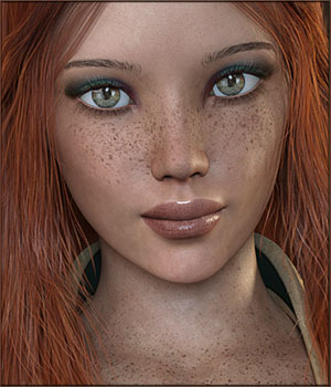 TDT-Ayuna for Genesis 3 Female 3D Figure Assets Deva3D