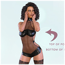 Z Womanly Allure - Poses and Partials for the Genesis 8 Females image 2