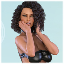 Z Womanly Allure - Poses and Partials for the Genesis 8 Females image 7