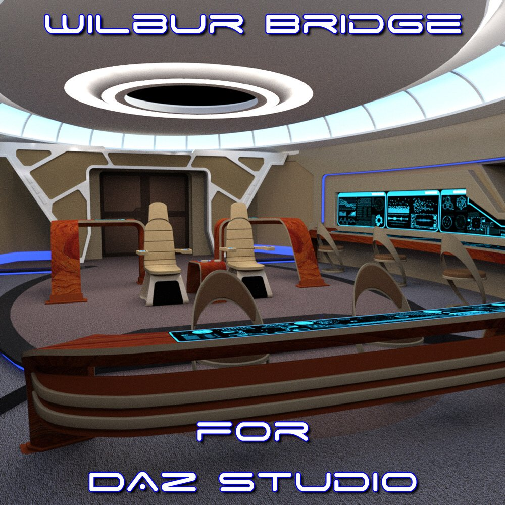 Wilbur Bridge for DAZ Studio by VanishingPoint