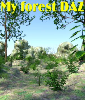 My forest DAZ 3D Models JeffersonAF