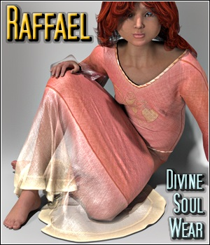 Raffael - Divine Soul Wear 3D Figure Assets 3Dream