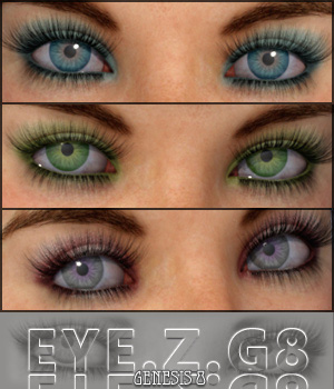 Eye.Z. For Genesis 8 3D Figure Assets Merchant Resources Freja