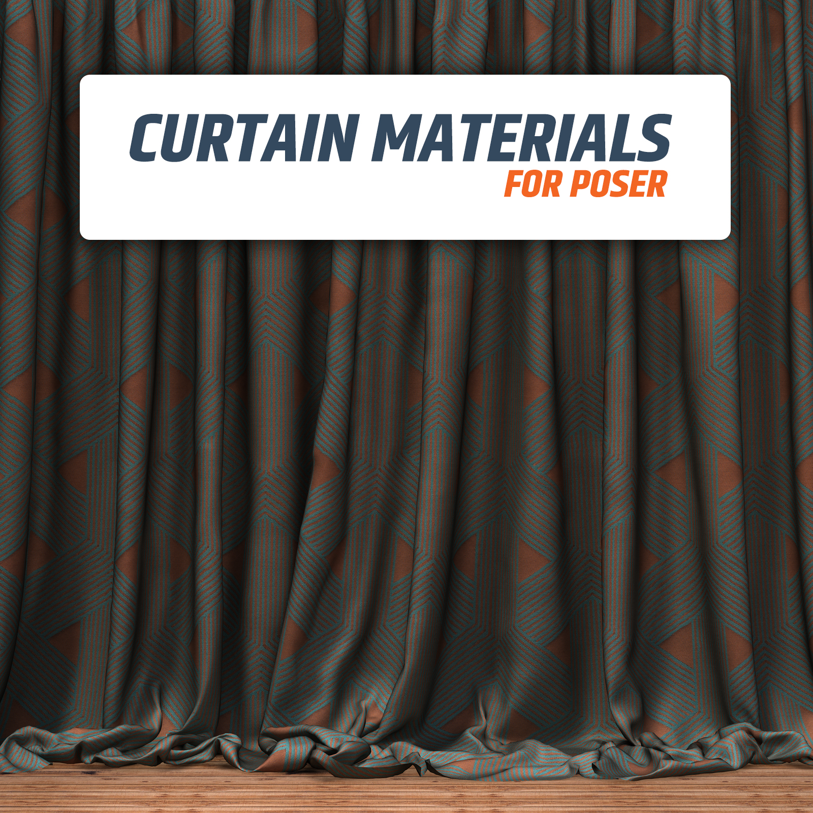 Materials for Curtains :: Poser Materials