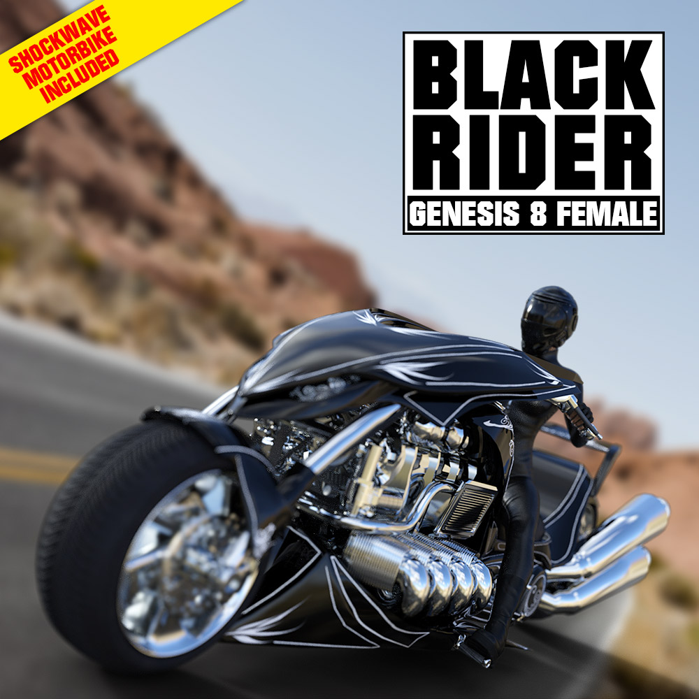 BLACK RIDER for G8F