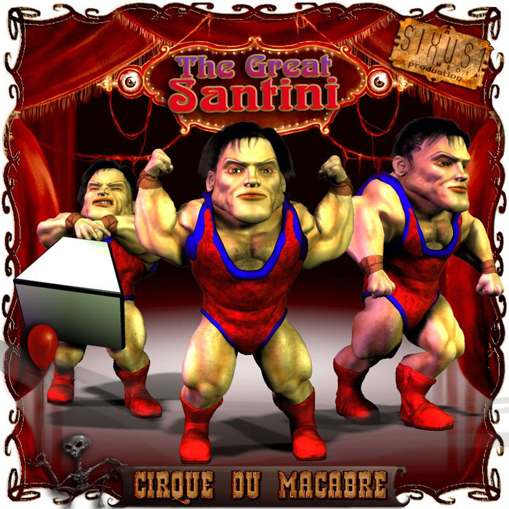 Cirque Du Macabre: Santini The Strong Man Uni-Dwarf Add-on