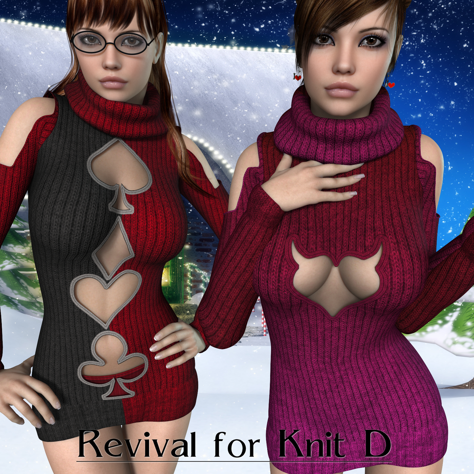 Revival for KnitD_Poser