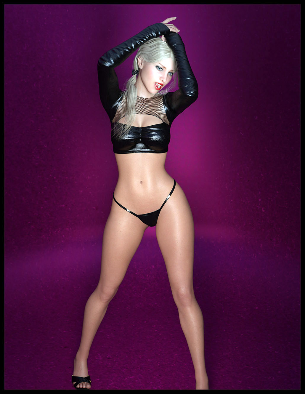 i3D Lovely Lady Pose Collection for G8F