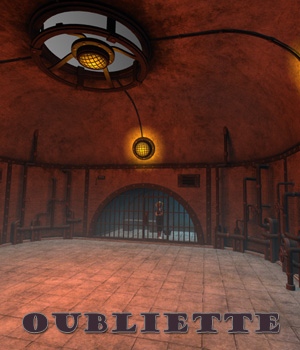 Oubliette for Poser 3D Models 1971s