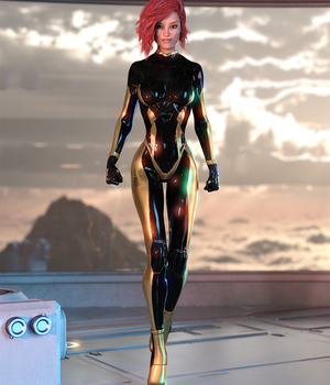 Material ADD ON for Alion Suit G8F DAZ STUDIO Iray 3D Figure Assets benalive