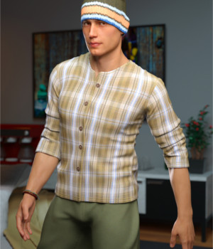 Urban Hipster Outfit for Genesis 8 Male(s)  3D Figure Assets Toyen