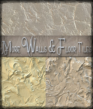 More Walls and Floors Patterns 2 2D Graphics antje