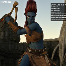 Orc and troll for G8F image 8
