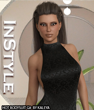 InStyle - Hot BodySuit G8 3D Figure Assets -Valkyrie-