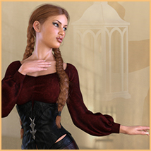Z The Chosen One - Poses and Partials for the Genesis 8 Females image 4
