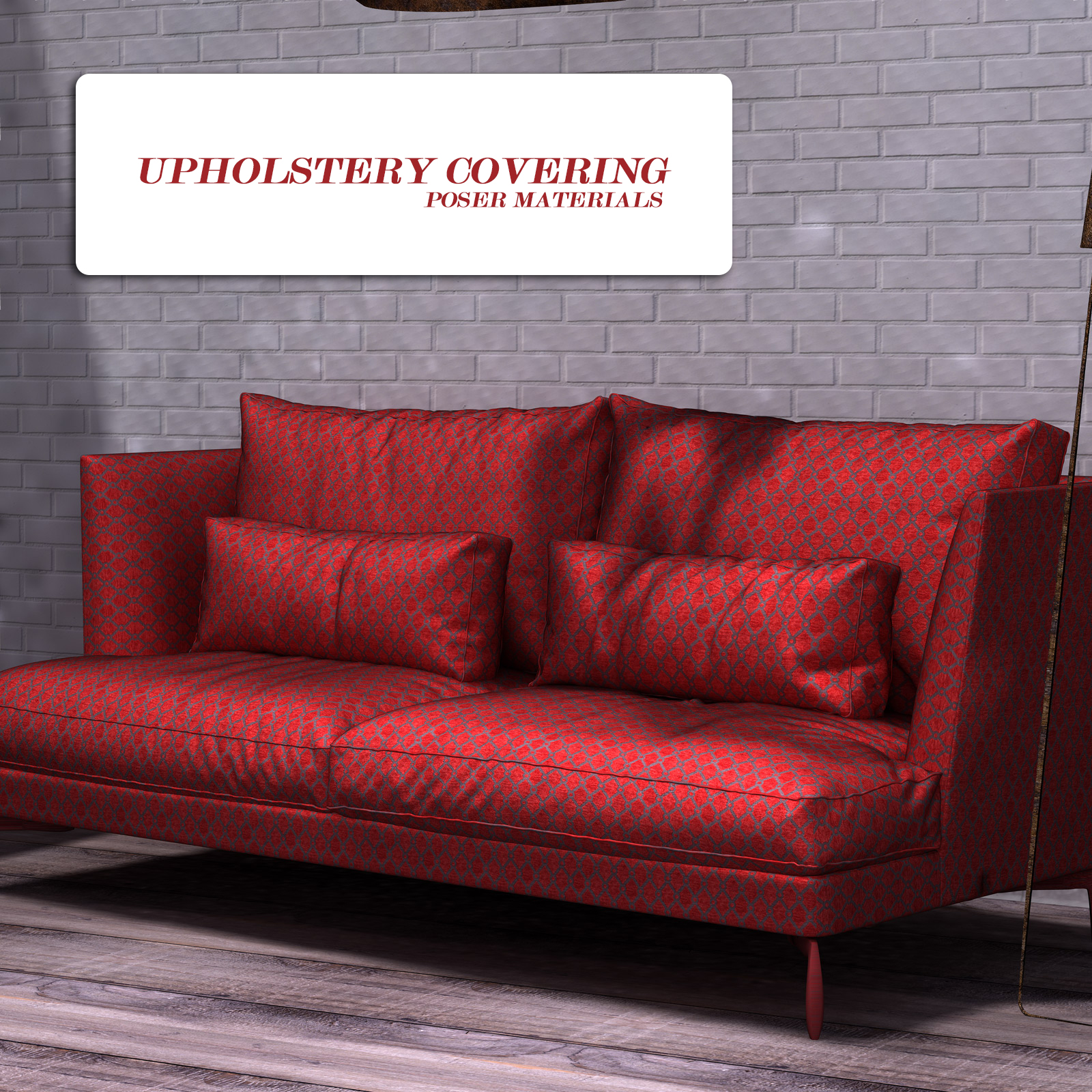 Upholstery Covering :: Poser Materials