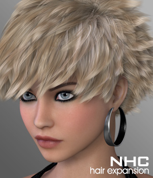 NHC Expansion : Aloe Hair 3D Figure Assets DIGIpixel