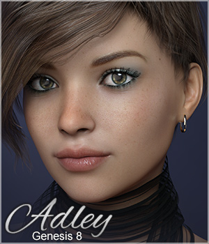 Sabby-Adley for Genesis 8  3D Figure Assets Sabby