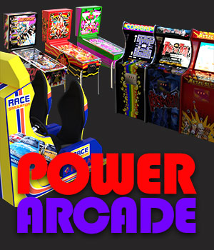 Power Arcade for DS Iray 3D Models powerage