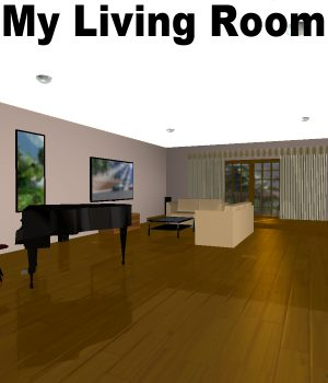 My Living Room Poser 3D Models JeffersonAF