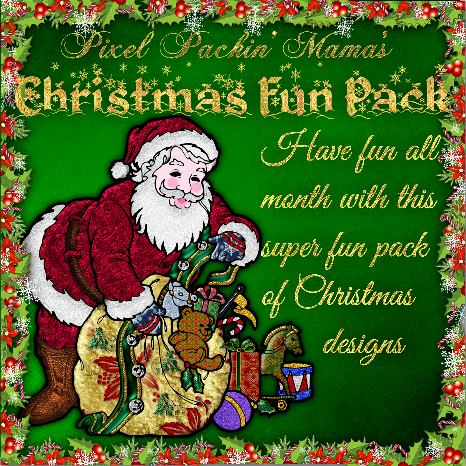 Pixel Packin Mamas Mega Christmas Fun Pack