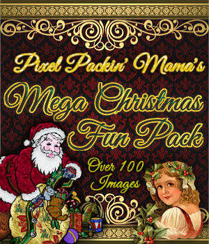 Pixel Packin Mamas Mega Christmas Fun Pack 2D Graphics Merchant Resources pixelpackinmama