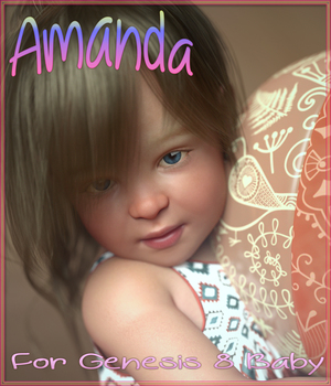Amanda for Genesis 8 Baby 3D Figure Assets Angel_Wings