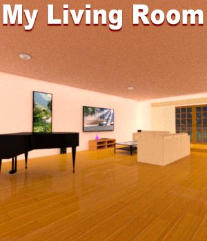 My Living Room DAZ 3D Models JeffersonAF