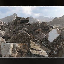 3D Scenery: Rubble of the Heights - Extended License image 1