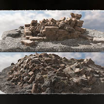 3D Scenery: Rubble of the Heights - Extended License image 6