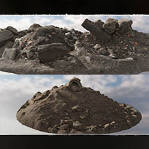 3D Scenery: Rubble of the Heights - Extended License image 8