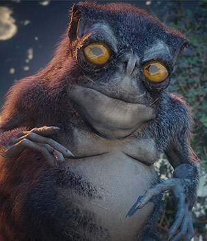 Tsathoggua for Daz Studio 3D Models sixus1