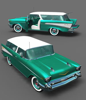 CHEVROLET NOMAD for VUE  3D Models 3DClassics