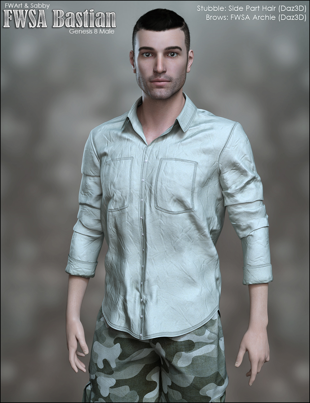 FWSA Bastian for Genesis 8 Male by Sabby