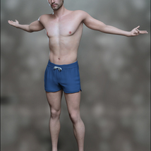 FWSA Bastian for Genesis 8 Male image 6