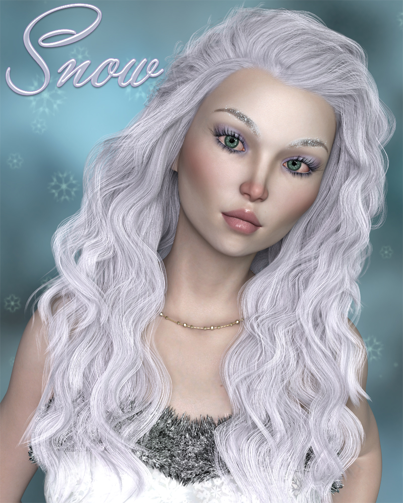Snow for Genesis 8 Female