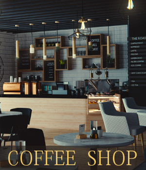 Coffee Shop 3D Models TruForm