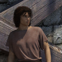 dForce Roman Toga and Tunic for Genesis 3 Male and Genesis 8 Male image 5