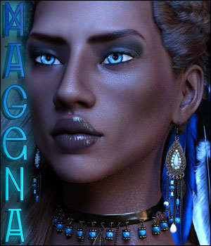 Magena For Genesis 8 Female 3D Figure Assets Ladyillin