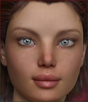 TDT-Charissa for Genesis 3 Female 3D Figure Assets Deva3D