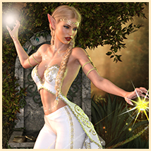 Z Elven Dreams - Poses and Partials for the Genesis 8 Females image 1