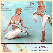 Z Elven Dreams - Poses and Partials for the Genesis 8 Females image 2