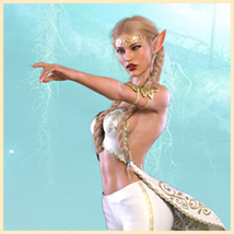 Z Elven Dreams - Poses and Partials for the Genesis 8 Females image 3