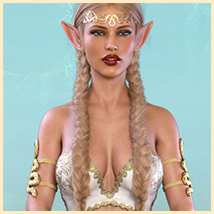 Z Elven Dreams - Poses and Partials for the Genesis 8 Females image 5